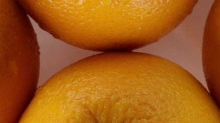 Whole oranges Stock Footage