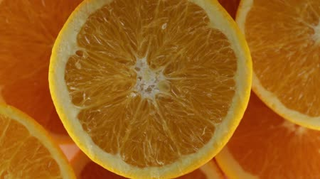 Oranges for juice Stock Footage