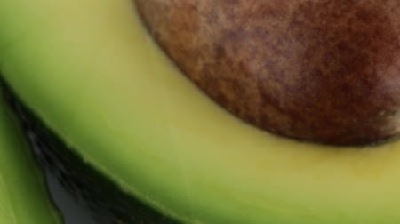 fatty acid : Avocado Stock Footage