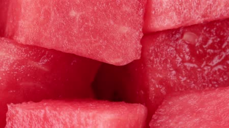 мускусная дыня : Watermelon cut into cubes