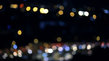 mágico : Bokeh abstract background with shining sparkles can use with festival new year party and event, high quality footage Stock Footage