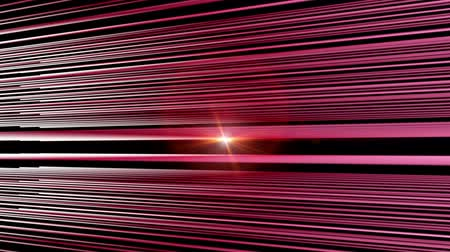 flowing lines : Futuristic video animation with moving stripe background and lights, loop HD 1080p