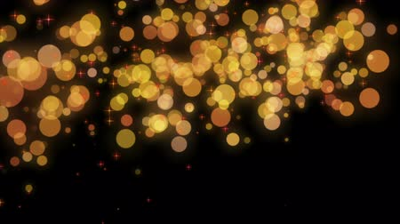 mozgás : Wonderful video animation with moving bubbles and stars, loop HD 1080p