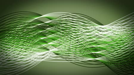 lendület : Fantastic eco video animation with moving stripe wave object, loop HD 1080p