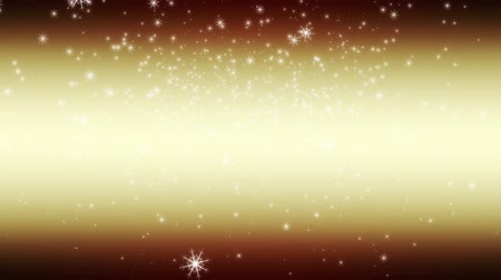 video effects : Wonderful christmas video animation with falling snowflakes, loop HD 1080p