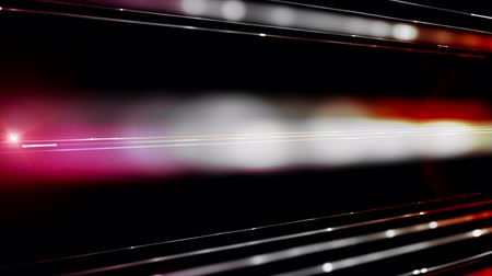flowing lines : Powerful technology light stripe video animation, loop HD 1080p Stock Footage