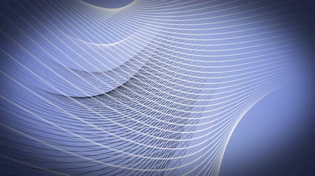 esoterický : Wonderful video animation with moving stripe wave object, loop HD 1080p