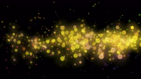 to celebrate : Wonderful video animation with bubbles and stars in motion, 4096x2304 loop 4K