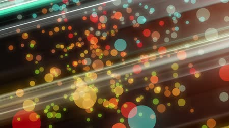 derűs : Wonderful video animation with moving bubbles and stripes, loop HD 1080p
