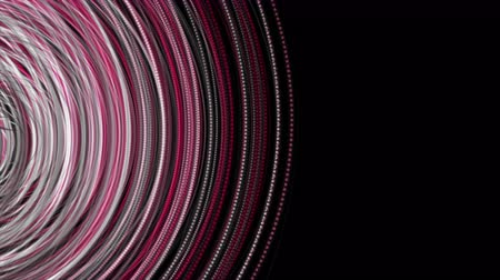 eleganckie : Fantastic video animation with particle stripe object in motion, 4096x2304 loop 4K Wideo