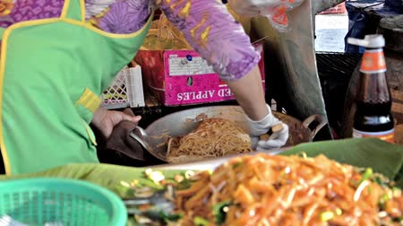 stragan : Street cooking is a tradition and ubiquitous in Thailand.