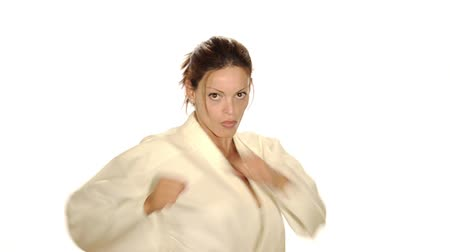 artes marciais : karate woman