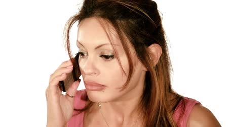 neurotic : a lady quarreling on the telephone