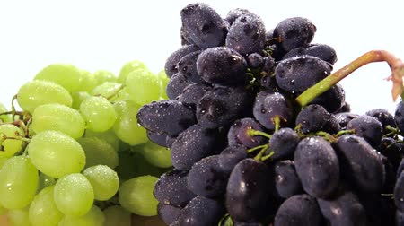 vitaminic : grapes Stock Footage