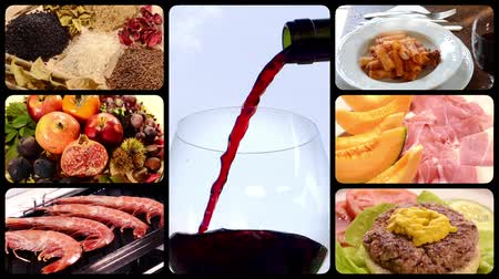 meal : Food and drink, montage