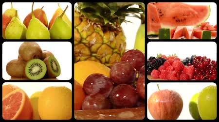 vitaminic : fruits collage
