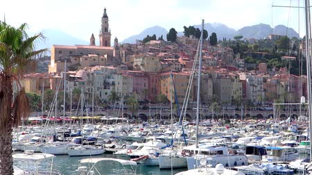 menton : a beautiful view of menton, france