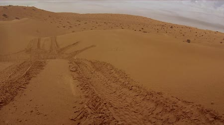 deserto : camera car in the sahara desert