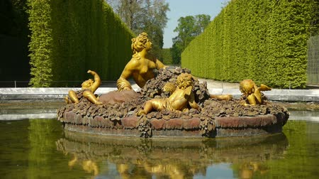 saray : Fountain of Flora, seasonal pond at Versailles. France