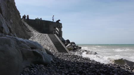 d day : A bunker at the sea near Calais, France