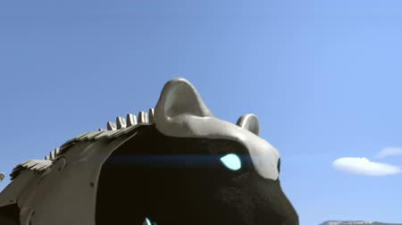 kotki : Cyborg black cats - 24 fps