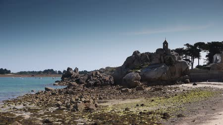 brittany : Port Blanc. Seaside Brittany France