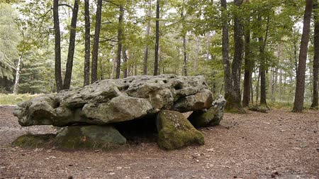 buried : Dolmen La Grosse Pierre, prehistoric stones in Normandy, PAN