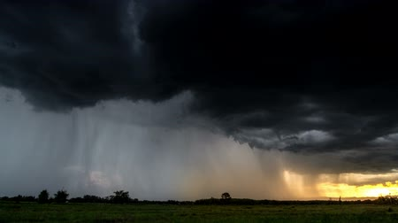 borultság : Timelapse Storm Sky clouds with the rain