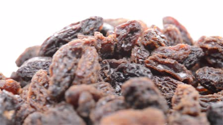 nutricional : side view raisin rotating