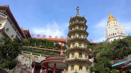Panorama of Chinese temple