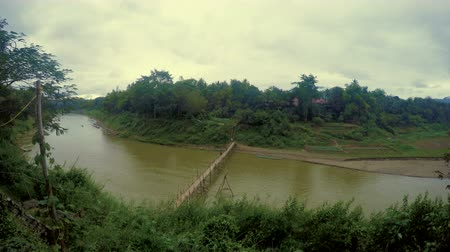 luang : Panoramic view of Luang Prabang River