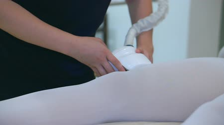 lipolysis : Hardware laser therapy of leg (body and facial) SPA procedure