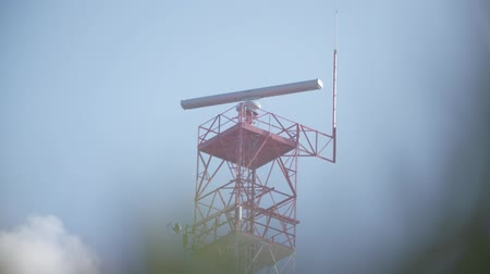 aerodrome : Radar spinning at the lighthouse at Cabo da Roca, Portugal.