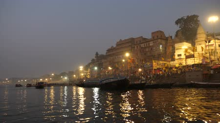 Boats on Ganges River, Varanasi , India