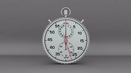 contagem regressiva : 30 Second Zoom into Stopwatch (CG) Vídeos