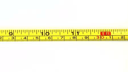 лента : Tape measure on white