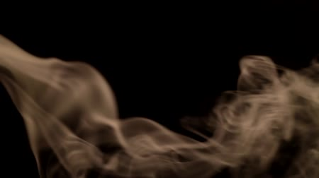 smell : Smoke Patterns on black