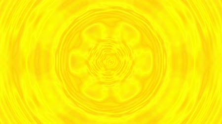 hallucinations : Sun sunshine beams stylized cg animation. Circular kaleidoscopic iridescent rays, fast movie. Geometric ornament background for tv show, intro opener, holiday, summer, club, event music clip, footage.