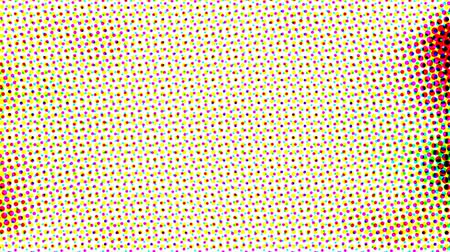 popart : Abstract halftone live wallpaper. Iridescent dots surface for tv show intro, party, event, clubs, music clips, blog opener, vlog presentation or advertising footage. Banner for text, title, caption Wideo