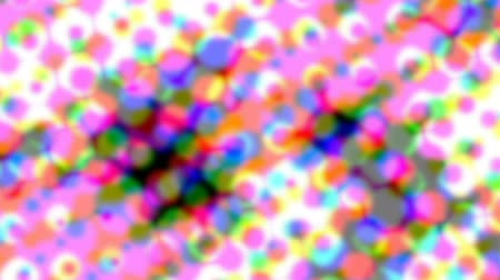 opener : Abstract pink live wallpaper. Iridescent dots surface for tv show intro, party, event, clubs, music clips, blog opener, vlog presentation or advertising footage. Banner for text, title, caption