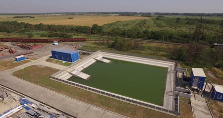 clarifier : Treatment facilities at the plant