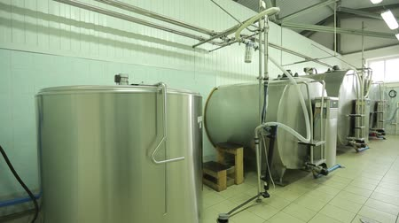 enterprise : The processing of milk in tanks