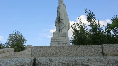 bułgaria : Monument Alyosha in Plovdiv, Bulgaria Wideo