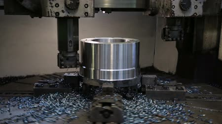 aparas de madeira : Workpiece processing on turning-and-boring lathe
