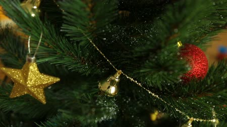 Kerstboom in close-up