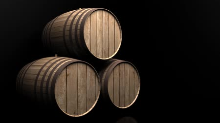 dub : footage of barrels in a cellar with black background Dostupné videozáznamy