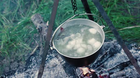 lasca : Food in the pot The food is cooked in a pot