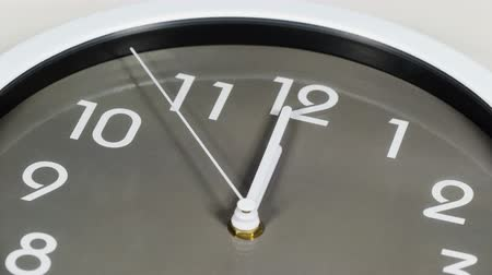 часов : close up of clock showing at noon