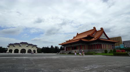 salle de concert : Taipei, Taiwan- 8 June, 2019: National Concert Hall and Liberty Square main gate of Chiang Kai-Shek Memorial Hall in Taipei, Taiwan. the famous landmark with popular travel of tourists visiting Taiwan.