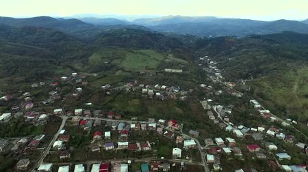 aerial view of the central part of Kutaisi, Georgia